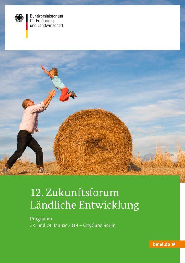 Die KLB auf dem 12. Zukunftsforum Ländliche Entwicklung im CityCube Berlin