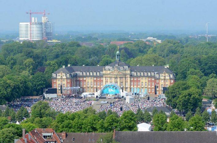 Impressionen vom Katholikentag in Münster