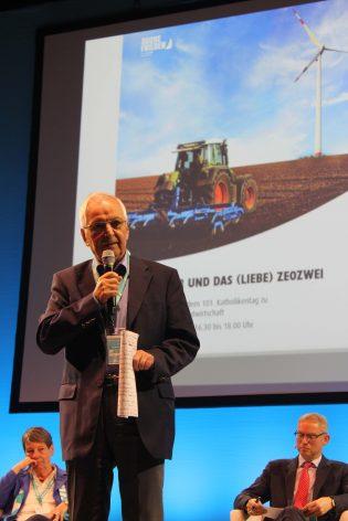 Landwirtschaft im Fokus des Klimawandels Großes Podium von KLB und KLJB auf dem Katholikentag
