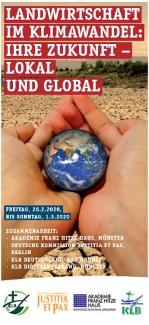 Landwirtschaft im Klimawandel: Ihre Zukunft - lokal und global